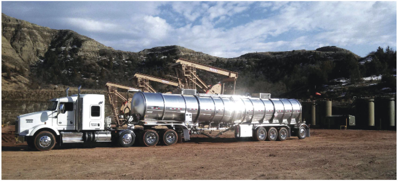 Take-away by trucks adds flexibility moving crude oil from the Bakken