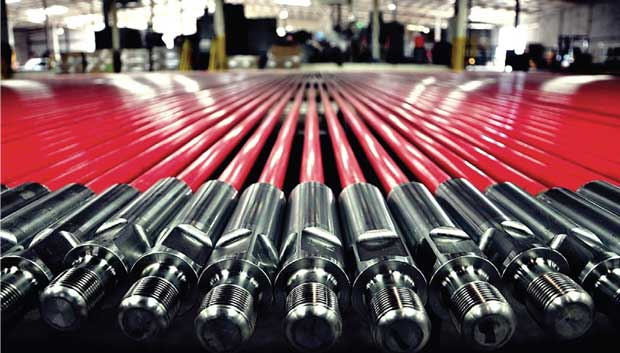 new fiberglass rods in Superod's warehouse