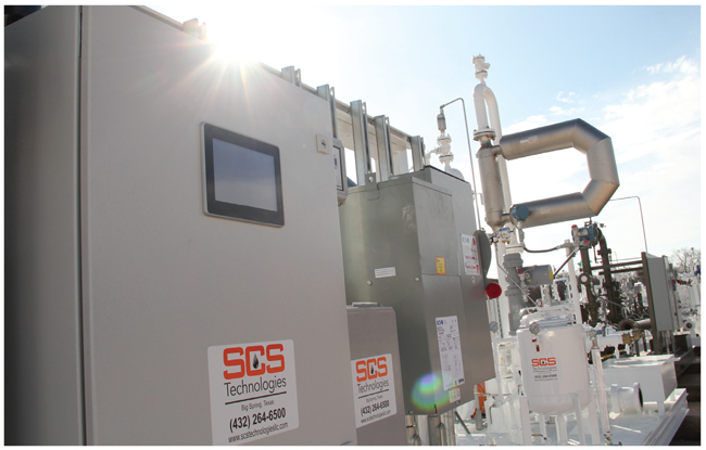 SCS Technologies' LACT unit installed in the field