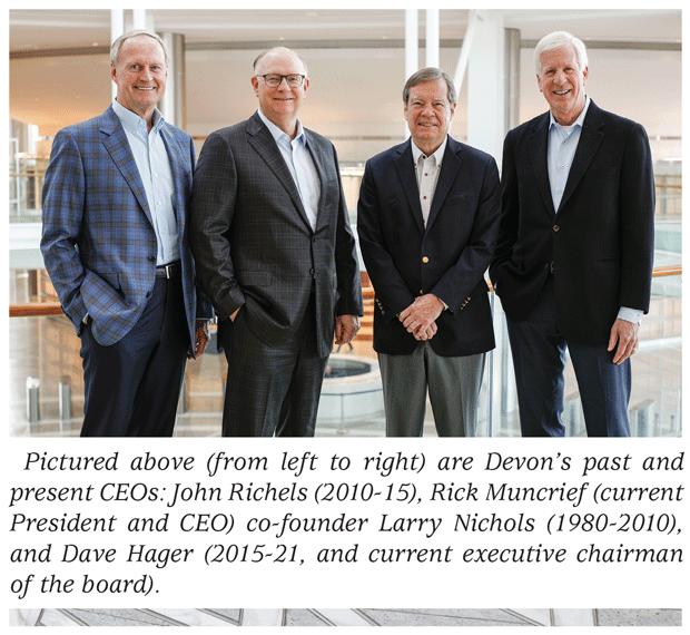John Richels, Rick Muncrief, Larry Nichols and Dave Hager