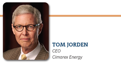 Tom Jorden, CEO Cimarex Energy