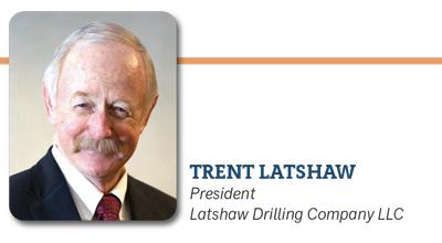 Trent Latshaw, President Latshaw Drilling Company LLC