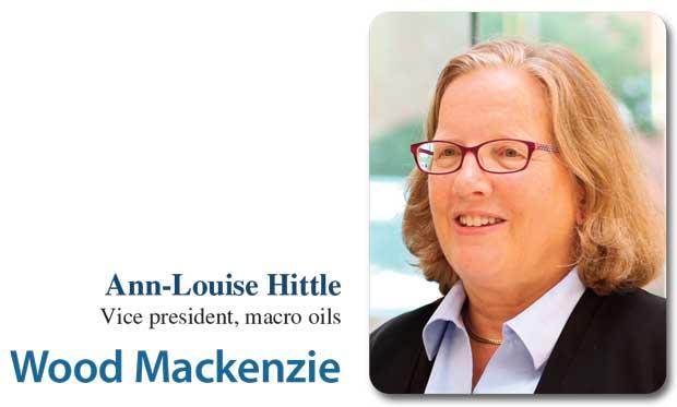 ANN-LOUISE HITTLE, Vice president, macro oils, Wood Mackenzie