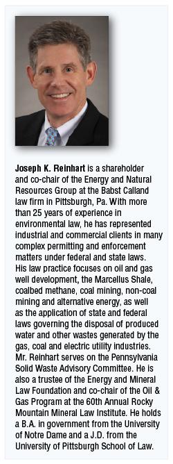 Joseph K. Reinhart at Babst Calland