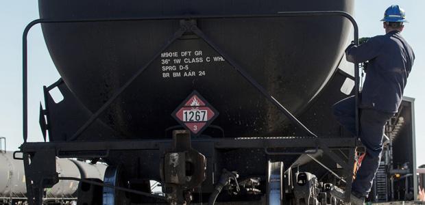 Train Tanker for Crude Oil