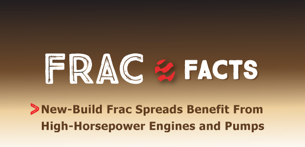 Frac Facts: New-Build Frac Spreads Benefit From High-Horsepower Engines and Pumps