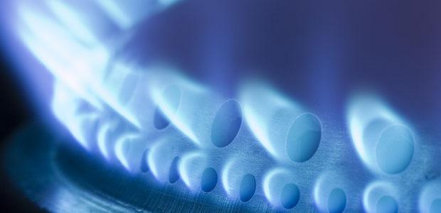 blue flame gas burner