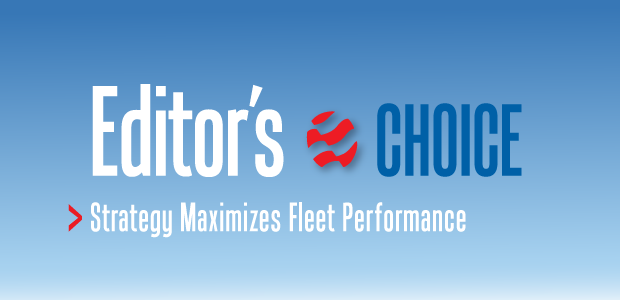 Editor's Choice: Strategy Maximizes Fleet Performance