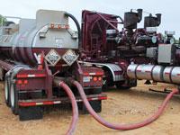 acidizing trucks
