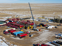 Liberty Oilfield Services completing Bison Oil & Gas II's Bloomslang B pad